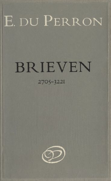 Brieven. Deel 6. 1 november 1935–30 juni 1937, E. du Perron
