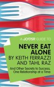 A Joosr Guide to… Never Eat Alone by Keith Ferrazzi and Tahl Raz, Joosr