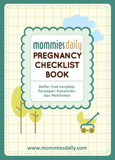 Mommies Daily Pregnancy Checklist Book, www. mommiesdaily. com