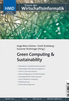 Green Computing & Sustainability, Jorge Marx Gómez