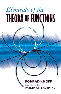 Elements of the Theory of Functions, Konrad Knopp