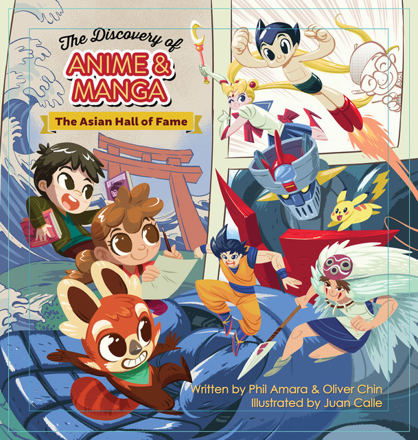 The Discovery of Anime and Manga, Oliver Chin, Phil Amara