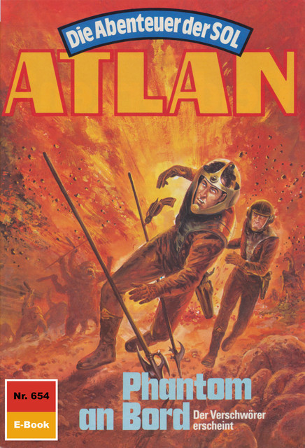 Atlan 654: Phantom an Bord, Peter Terrid