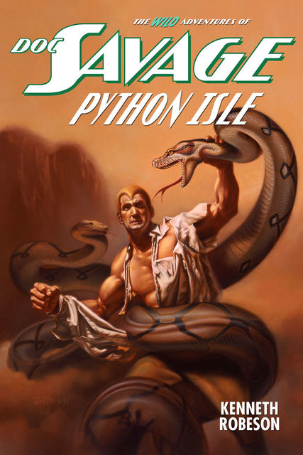 Doc Savage: Python Isle, Kenneth Robeson