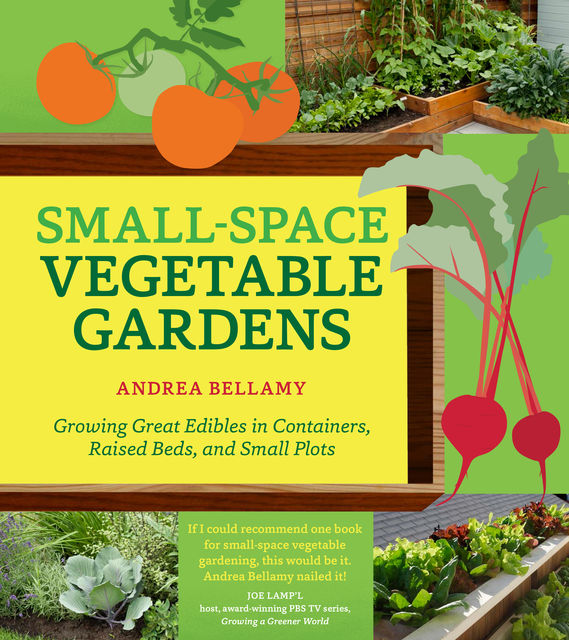 Small-Space Vegetable Gardens, Andrea Bellamy