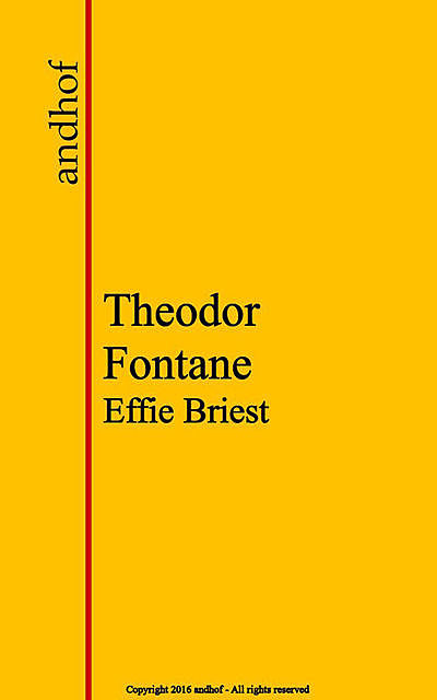 Effie Briest, Theodor Fontane