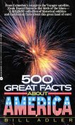 500 Great Facts to Know About America, Bill Adler
