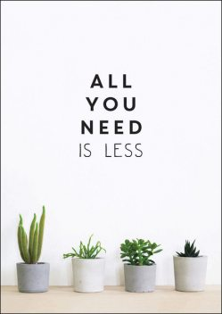 All You Need is Less, Vicki Vrint