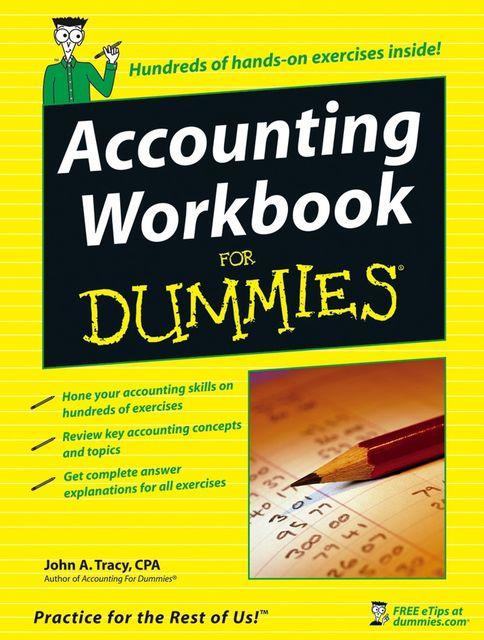 Accounting Workbook For Dummies, John A.Tracy