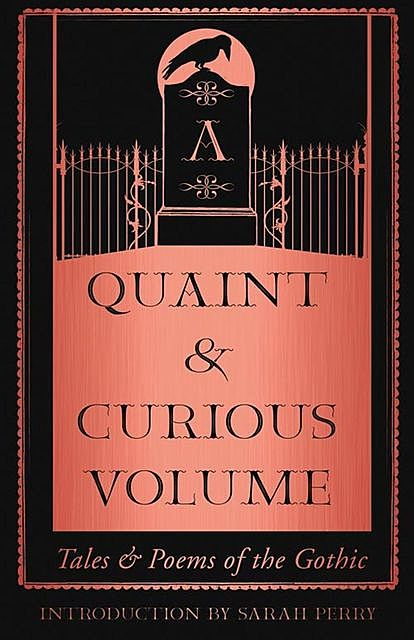 A Quaint and Curious Volume, Sarah Perry
