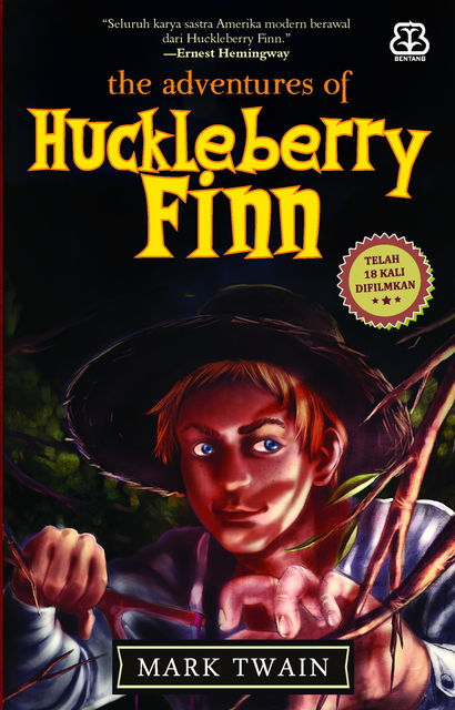 The Adventure of Huckleberry Finn, Mark Twain