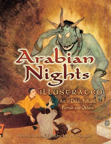 Arabian Nights Illustrated, Jeff A.Menges