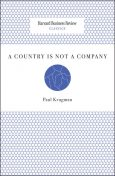 A Country Is Not a Company, Paul Krugman