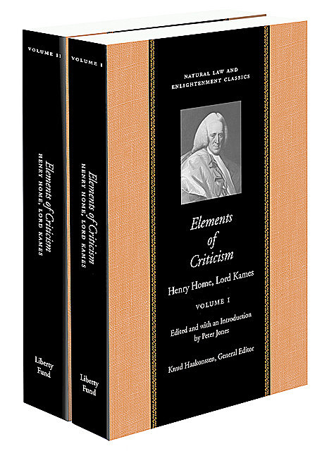 Elements of Criticism, Henry Home, Lord Kames