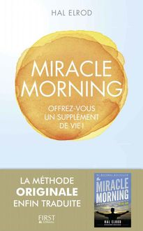 Miracle Morning (French Edition), Hal Elrod