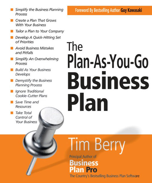 The Plan-As-You-Go Business Plan, Tim Berry