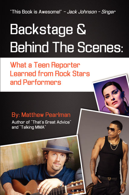 Backstage and Behind the Scenes, Matthew Pearlman
