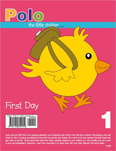 Polo the Little Chicken First Day, Cecalli
