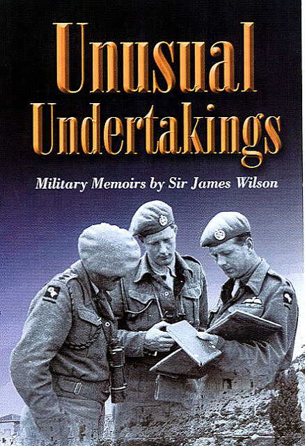 Unusual Undertakings, James Wilson