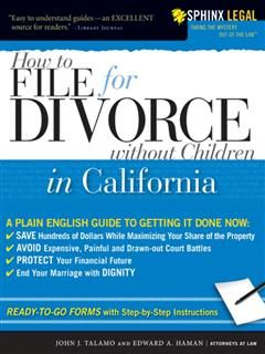 How to File for Divorce in California without Children, John J Talamo