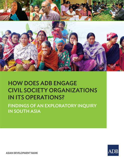 How Does ADB Engage Civil Society Organizations in its Operations, Asian Development Bank