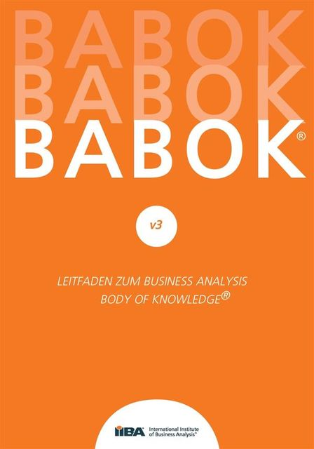 BABOK® v3, International Institute of Business Analysis