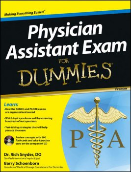 Physician Assistant Exam For Dummies, Barry Schoenborn, Richard Snyder
