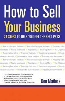 How to Sell Your Business, Don Matlock