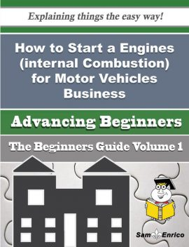 How to Start a Engines (internal Combustion) for Motor Vehicles Business (Beginners Guide), Gisele Mcpherson