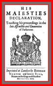 His Maiesties Declaration, touching his Proceedings in the late Assemblie and Conuention of Parliament, King of England James I