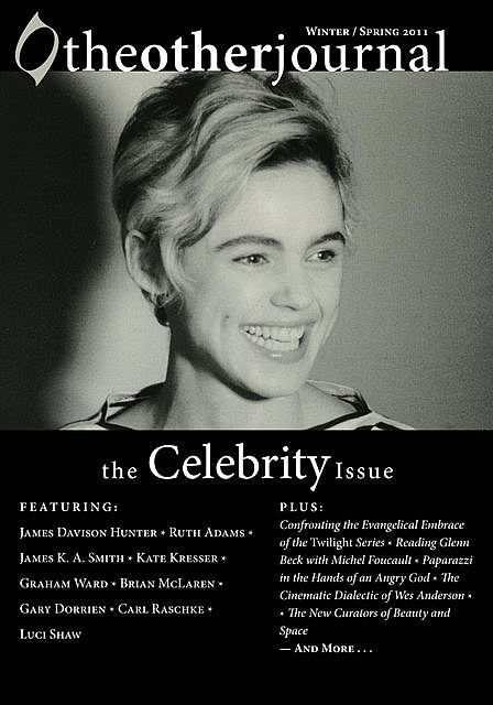 The Other Journal: The Celebrity Issue, Christopher J. Keller