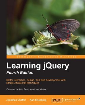 Learning jQuery Fourth Edition, Packt Publishing