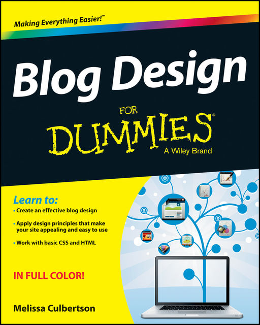 Blog Design For Dummies, Melissa Culbertson