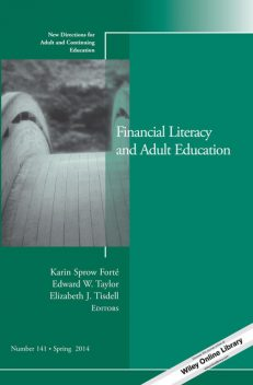 Financial Literacy and Adult Education, Karin Sprow Forté