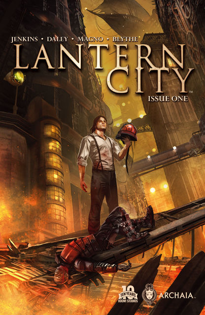 Lantern City #1, Matthew Daley, Paul Jenkins
