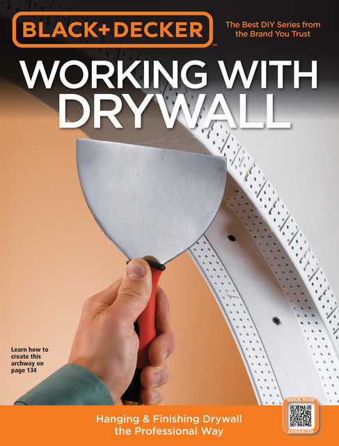 Black & Decker Working with Drywall, Editors of CPi