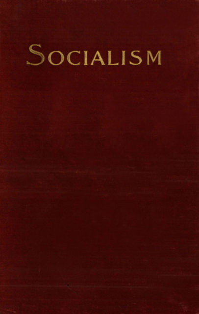 Socialism and the Social Movement in the 19th Century, Werner Sombart