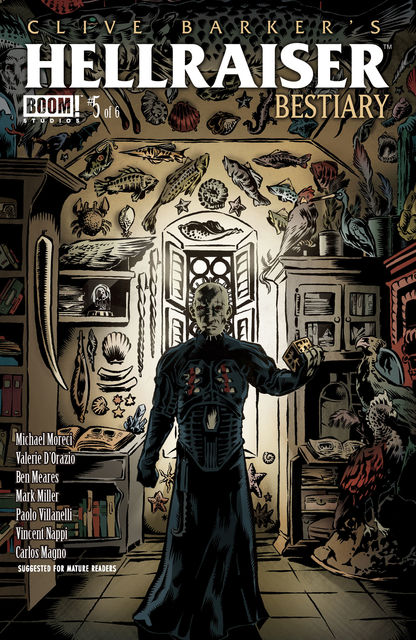 Clive Barker's Hellraiser: Bestiary #5, Mark Miller, Michael Moreci, Ben Meares, Carlos Magno