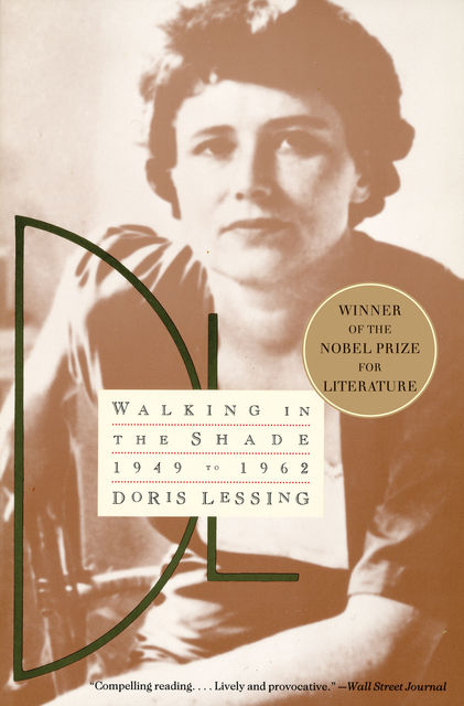 Walking in the Shade, Doris Lessing