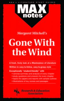 Gone with the Wind (MAXNotes Literature Guides), Gail Rae