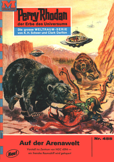 Perry Rhodan 455: Auf der Arenawelt, William Voltz