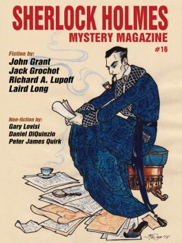 Sherlock Holmes Mystery Magazine #16, Arthur Conan Doyle, Jack Grochot, Richard A.Lupoff, Laird Long