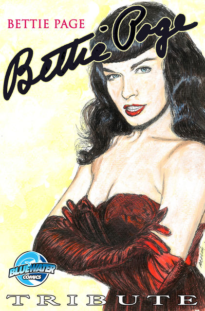 Tribute: Bettie Page Vol.1 # 1, Michael frizell