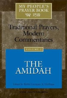 My People's Prayer Book, Edited by Rabbi Lawrence A. Hoffman