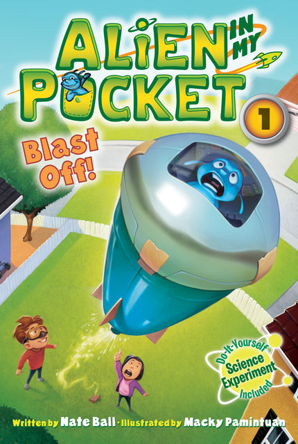 Alien in My Pocket #1: Blast Off!, Nate Ball