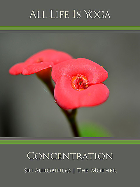 All Life Is Yoga: Concentration, Sri Aurobindo, The Mother