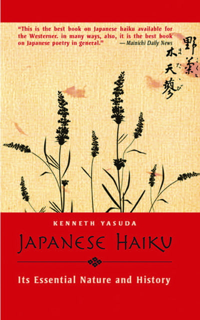 Japanese Haiku, Kenneth Yasuda