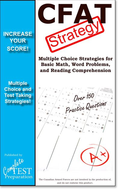 CFAT Test Strategy, Complete Test Preparation Inc.