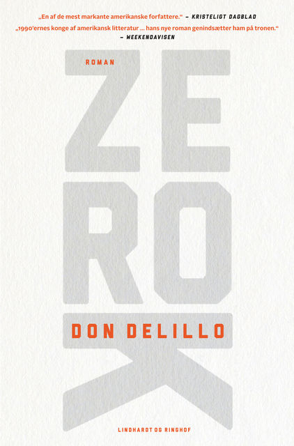 Zero K, Don DeLillo