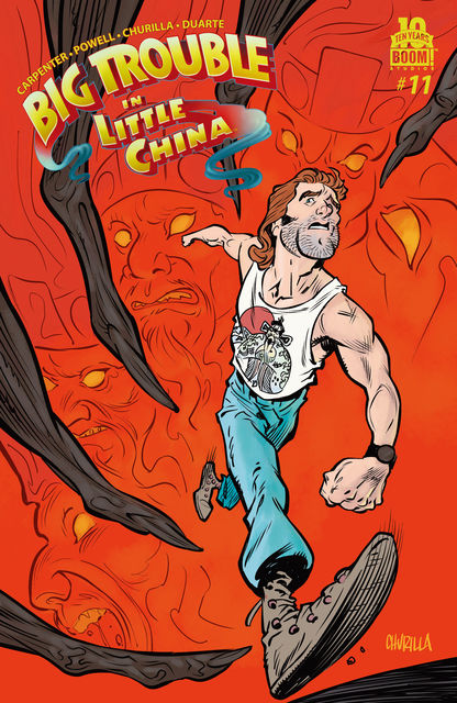 Big Trouble in Little China #11, Eric Powell